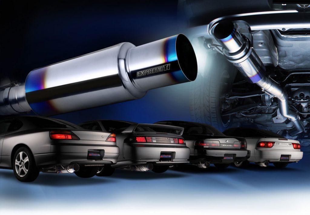 Tomei GTR R32 R33 R34 Catback full titanium
